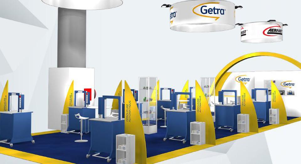 Getra sera pr sent au salon de l 39 emballage all4pack hall for Salon de l emballage lyon