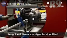 Filmeuse Orbitale pour grillages